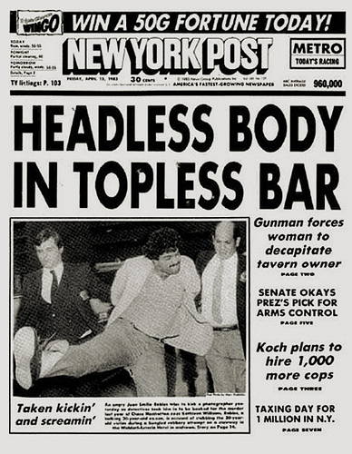 New York Post 1983