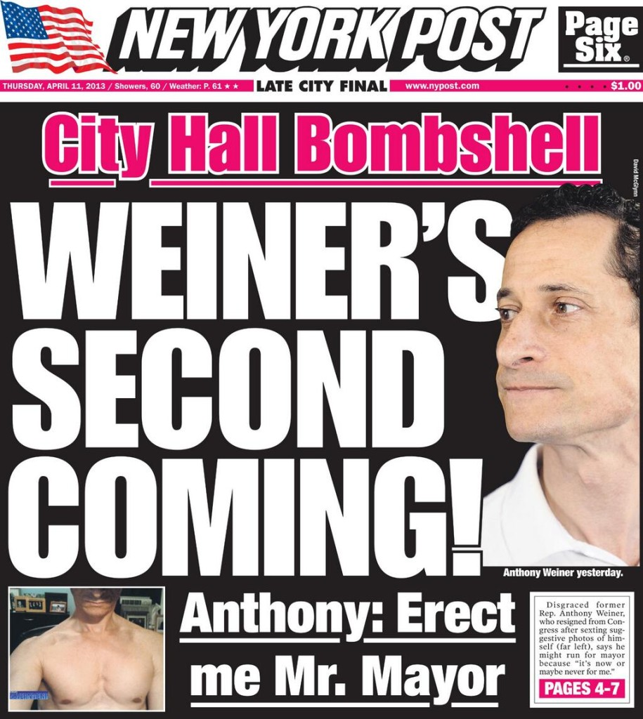 New York Post 11. april.