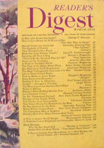 Reader's Digest March 1950