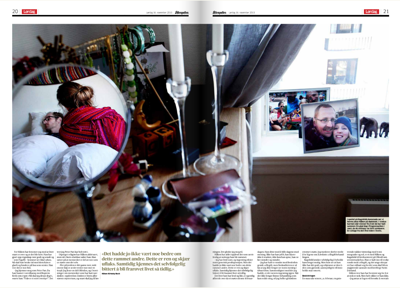 Aftenposten 16. november 2013