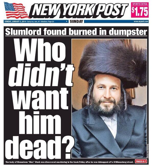 New York Post 5. januar 2014.
